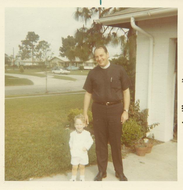 Dad and Me Orlando 1970