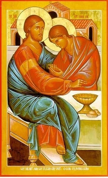 Icon of the Beloved Disciple from Mt. Angel Abbey