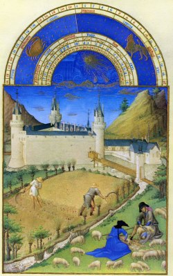 Tres Riches Heures - July - Limbourg Bros