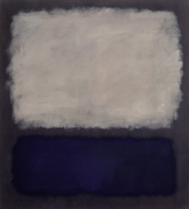 rothko blue-and-gray