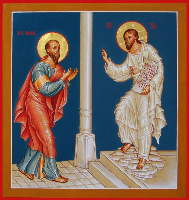 St. Paul and Jesus
