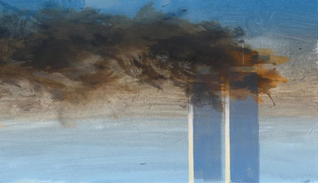 Twin Towers 9-11 by William Wray -- http://williamwray.blogspot.com