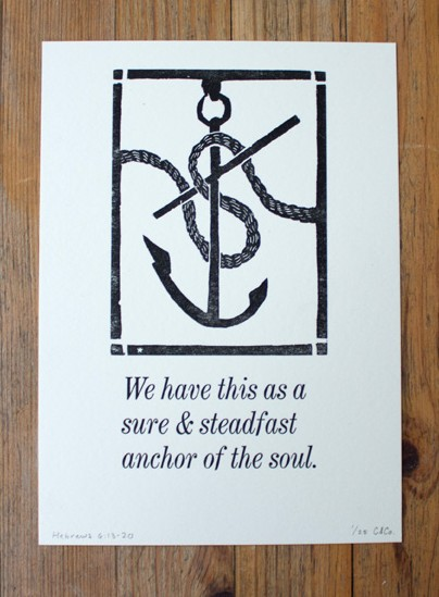 Sure and Steadfast Anchor