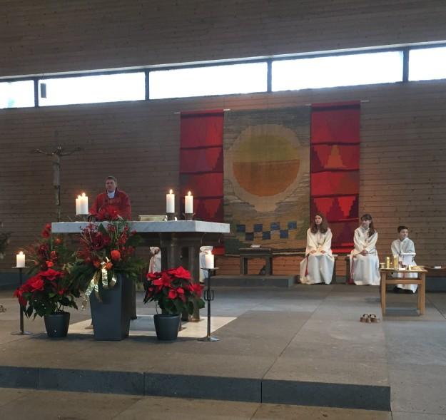 Sermon at Maria Trost Kirche, Munich